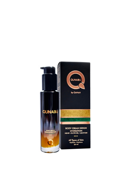 BODY CREAM SERUM HYDRATION FOR ALL TYPES OF SKIN QUNABU 50 ml