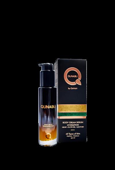 BODY CREAM SERUM HYDRATION FOR ALL TYPES OF SKIN QUNABU 50 ml