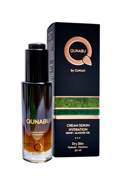 CREAM SERUM HYDRATION FOR DRY SKIN QUNABU 30 ml