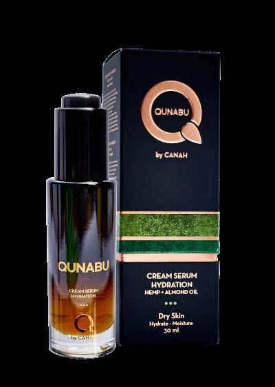 CREAM SERUM HYDRATION FOR DRY SKIN QUNABU 30 ml