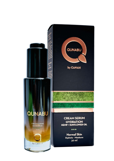 CREAM SERUM HYDRATION FOR NORMAL SKIN QUNABU 30 ml