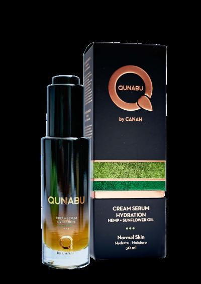 CREAM SERUM HYDRATION FOR NORMAL SKIN QUNABU 30 ml