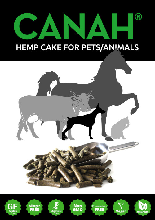 ORGANIC HEMP CAKE FOR PETS / ANIMALS CANAH