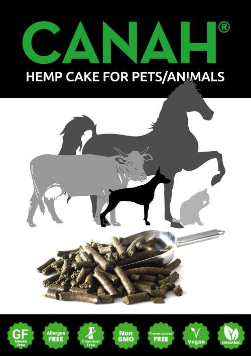 ORGANIC HEMP CAKE FOR PETS / ANIMALS CANAH