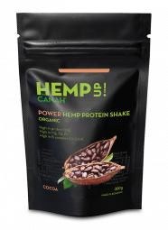 ORGANIC POWER CACAO HEMP UP PROTEIN SHAKE 300 g