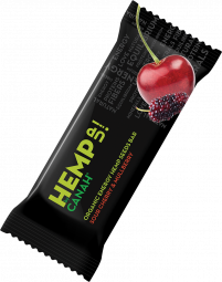 ORGANIC HEMP UP ENERGY SEED BAR - SOURCHERRY AND MULBERRY 48 g