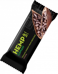 ORGANIC HEMP UP ENERGY SEED BAR - CACAO 48 g