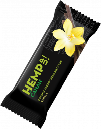 ORGANIC HEMP UP ENERGY SEED BAR - VANILLA AND BLACK SESAME 48 g